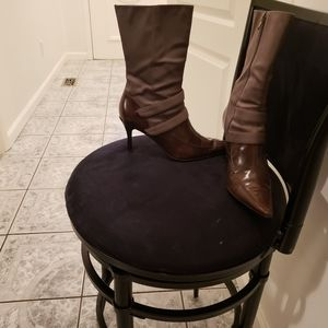 Nine West ankle  brown boots
